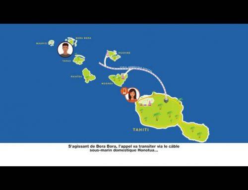 Comment s'effectue un appel inter-îles