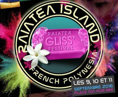 Affiche Raiatea Gliss Festival 2016