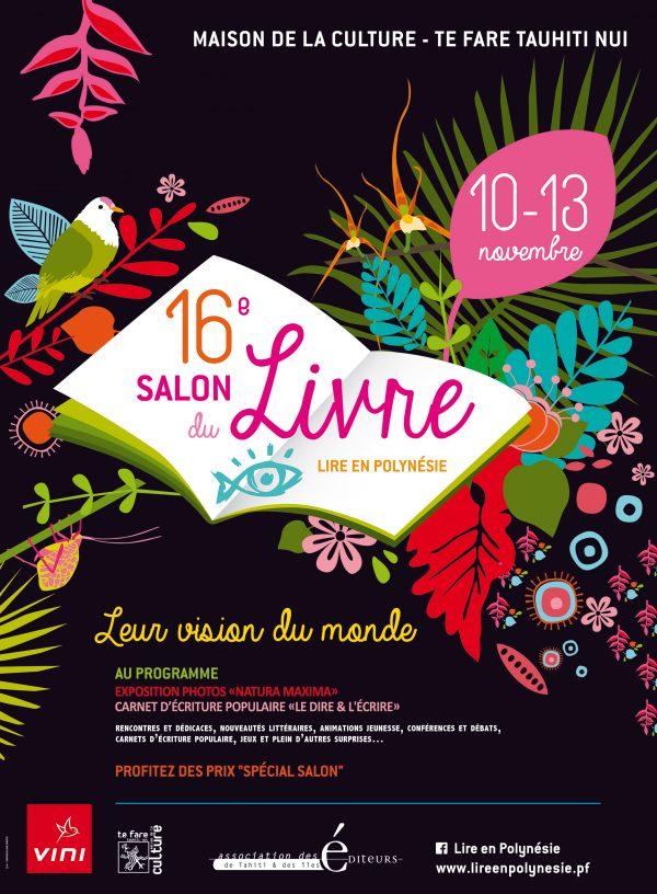 Le 16ème Salon du Livre Lire en Polynésie