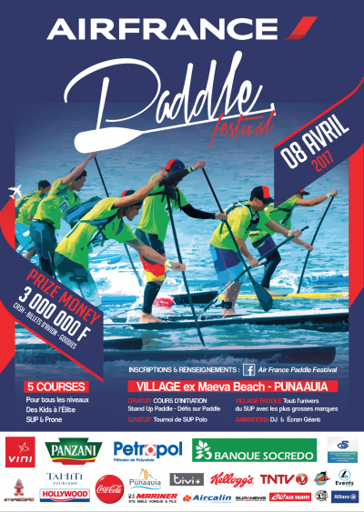 Air France Paddle Festival 2017