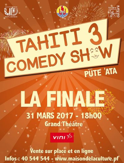 Tahiti comedy show 2017