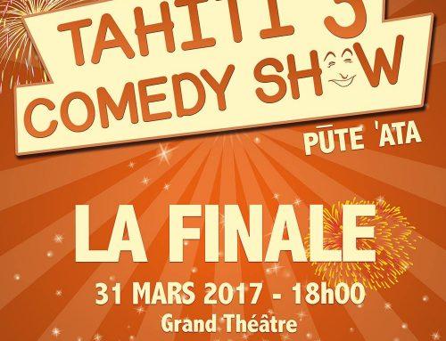 La 3ème édition du Tahiti Comedy Show