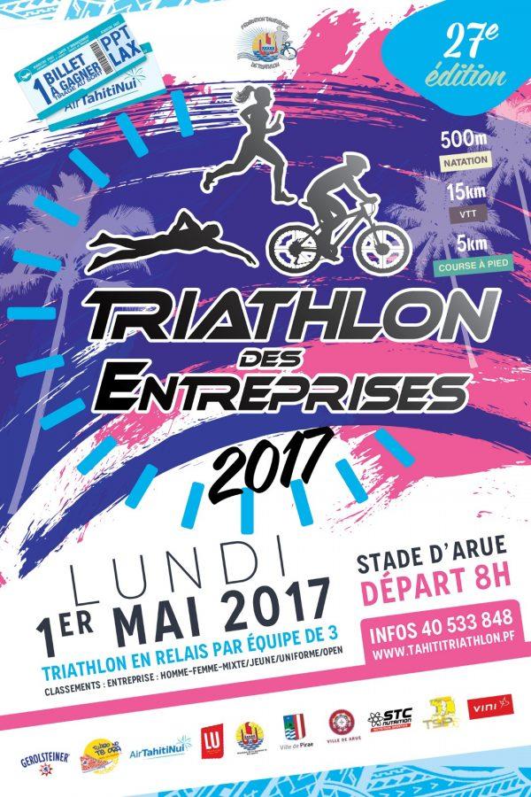 Triathlon des entreprises 2017