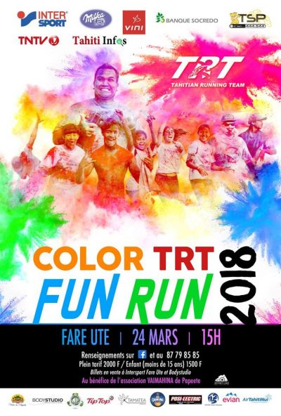 Affiche Color Fun Race