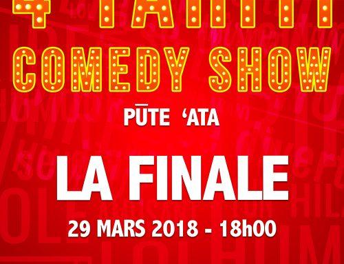 Du fou rire garanti avec le Tahiti Comedy Show