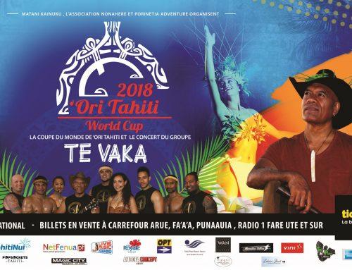 Vini présente la coupe du monde de Ori Tahiti et le groupe Te Vaka !