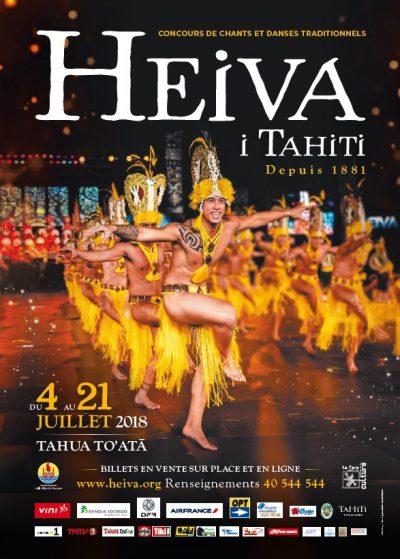 Heiva I Tahiti 2018 - affiche finalisée
