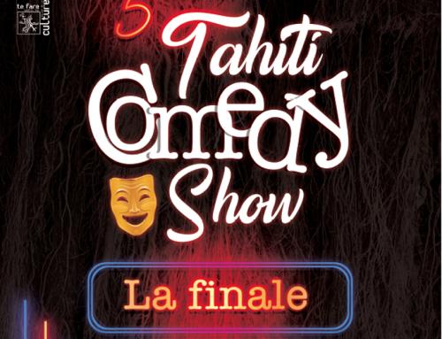 Du rire garanti avec la 5ème édition du Tahiti Comedy Show