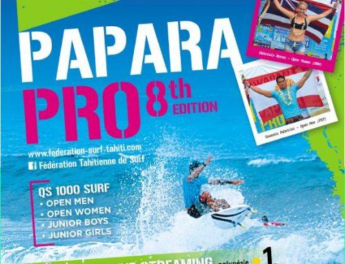 8ème édition de la Papara Pro