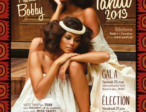 Miss Tahiti 2019 – Bobby à l'honneur