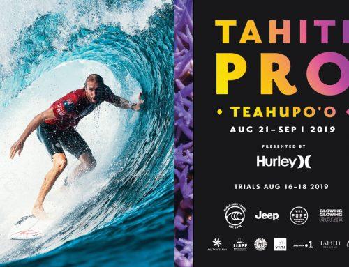 Vini partenaire de la Tahiti Pro Teahupo'o