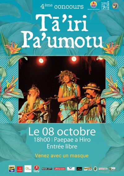 TairiPaumotu 2020 - Affiche soirée - web